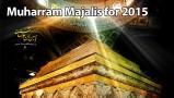 Muharram Majalis for 2015